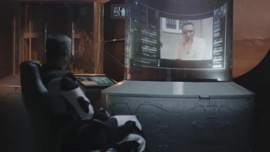 Thumbnail for Astronaut Having Video Call
