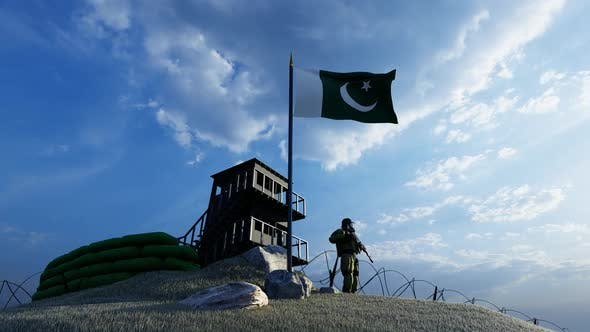 Thumbnail for The Soldier Protecting the Guard at the Pakistan Border