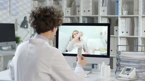 Fernkommunikation mit dem Patienten