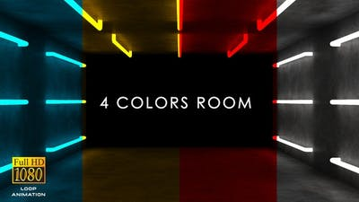Abstract Colors Room