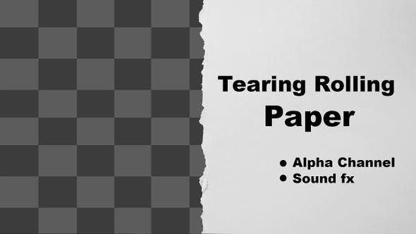 Thumbnail for Tearing Rolling Paper