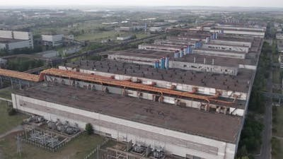 Big Factory Top View