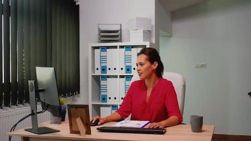 Businesspeople Working in Modern Loft