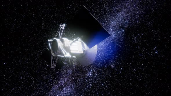 Thumbnail for Magellan Raumschiff nähert sich Venus