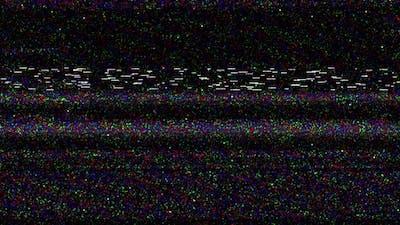 Damaged TV Noise 4K