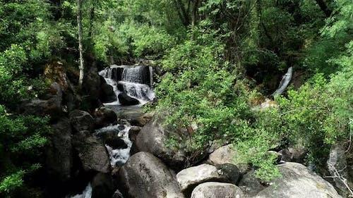 Waterfall in Super Slow Motion