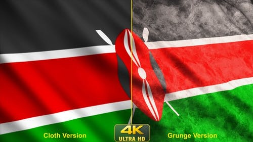 Kenya Flags
