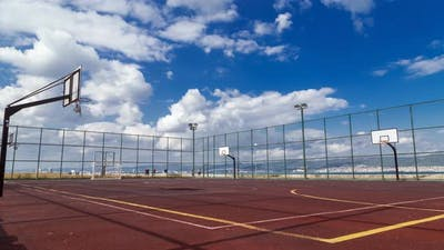 Sports Playground By The Sea