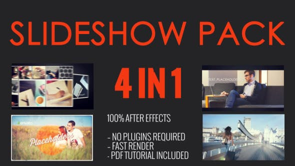 Thumbnail for SlideShow Pack 4 in 1