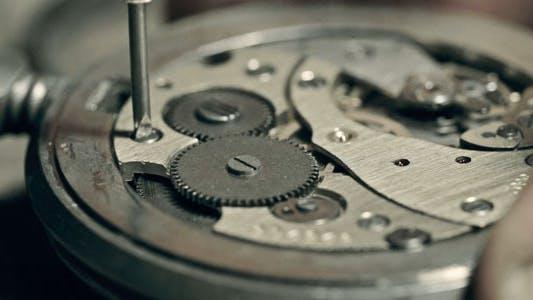 Uhr-Mechanik