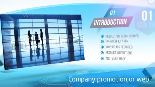 Cover Image for Company Promotion or Web