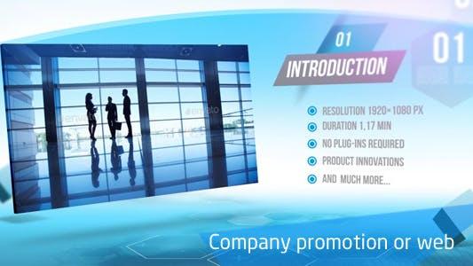 Promoción de la empresa o Web