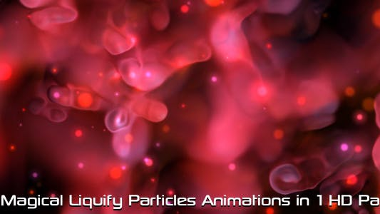 Thumbnail for Magical Liquify Particles Pack 01