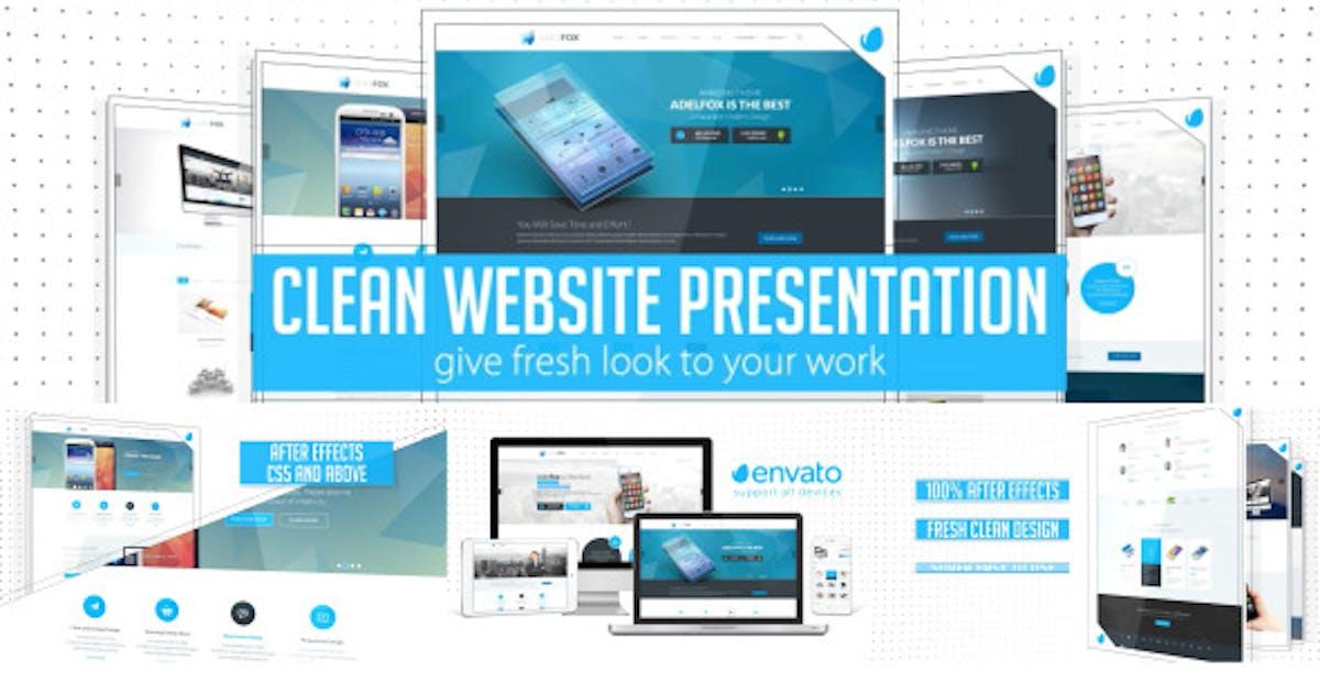 Download Clean Website Presentation 2 in 1 by MJake