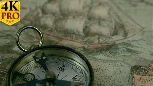 The Compass Lying on the Map