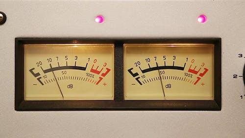 Stereo Decibel Meters