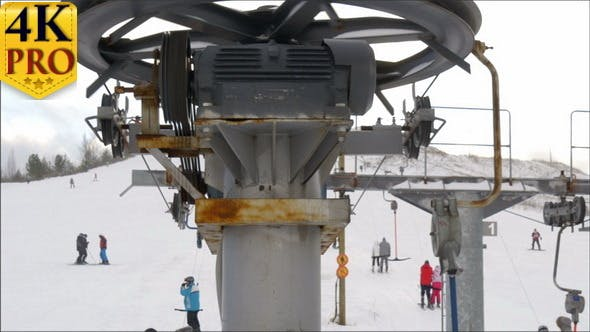 Thumbnail for The Rollers of the Ski Resort Ski Lift