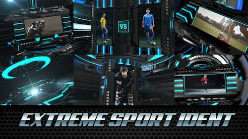 Extreme Sport Ident - Broadcast Package