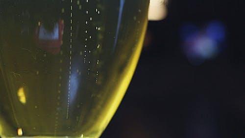 Glas Bier in einem Kneipe