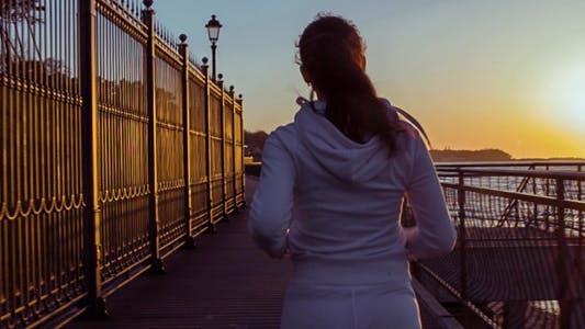 Thumbnail for The Girl Runs Along the Coast