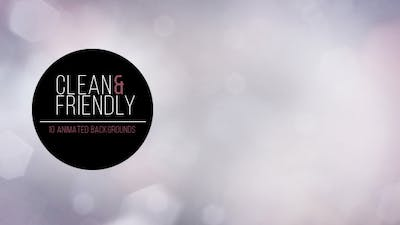 Clean and Friendly - 10 Backgrounds