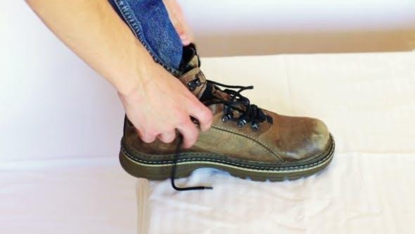 Thumbnail for Man Shoes Laces.