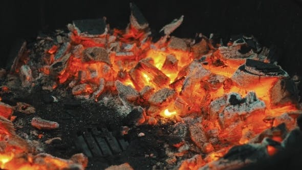 Thumbnail for Glowing Coals On The Grill