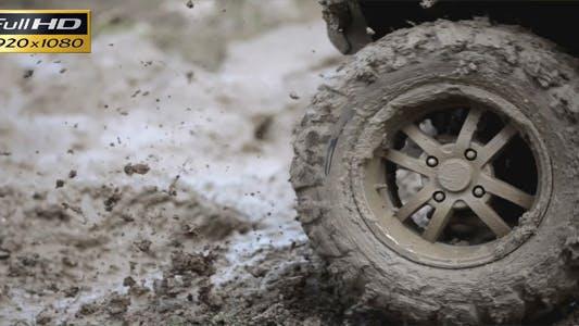 Skid on Mud