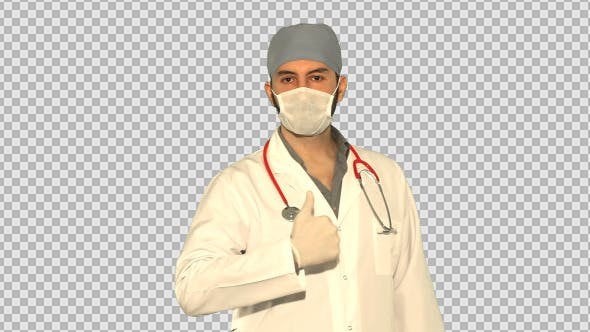 Thumbnail for Doctor Making Thumbs Up Gesture