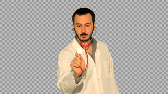 Thumbnail for Doctor Using Stethoscope