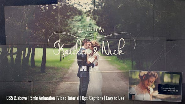 Thumbnail for Wedding & Memory Collage
