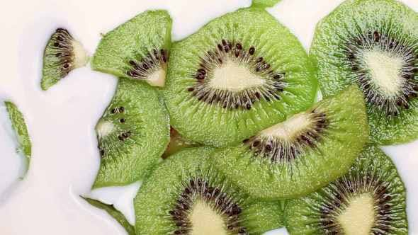 Thumbnail for Milk Fills Kiwi Slices
