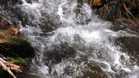 Thumbnail for Waterfall Creek in Nature 4