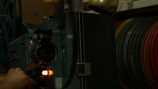 Thumbnail for Changing Film Reel