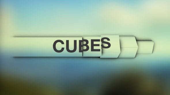 Thumbnail for Cubes - Simple and Clean Lower Thirds
