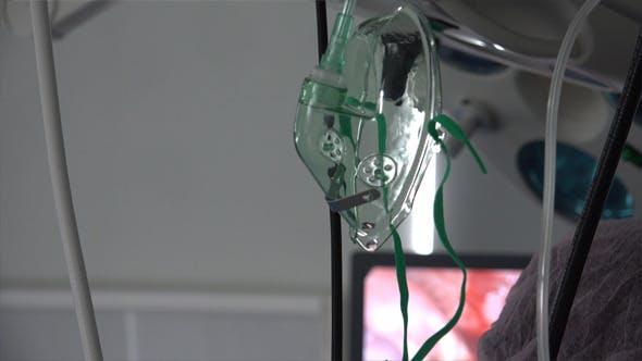 Medical Plastic Oxygen Mask