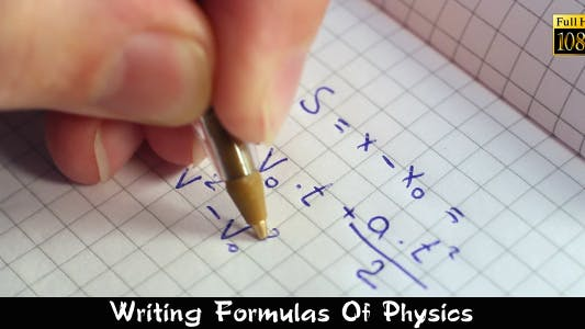 Thumbnail for Writing Formulas Of Physics
