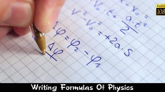 Thumbnail for Writing Formulas Of Physics 2