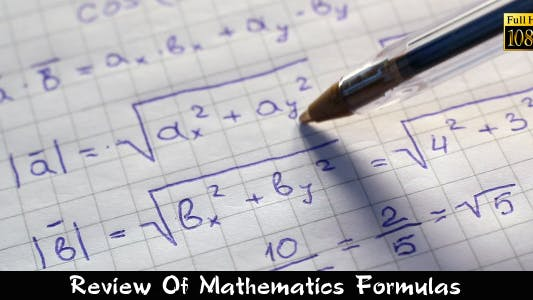 Thumbnail for Review Of Mathematics Formulas