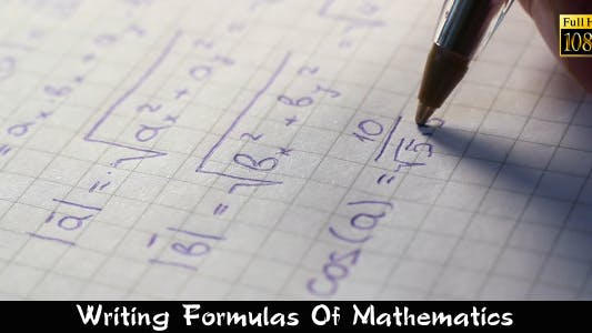Thumbnail for Writing Formulas Of Mathematics
