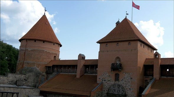 Thumbnail for The Architectural View of the Old Castle in Trakai