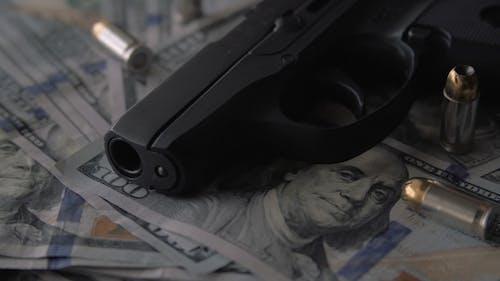 Guns, Bullets, & Money Close Up