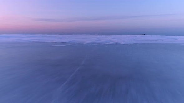 Thumbnail for Fly Low Over Sea Ice Surface