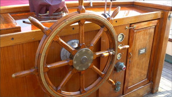 Thumbnail for The Stirring Wheel of the Old Viking or Galleon