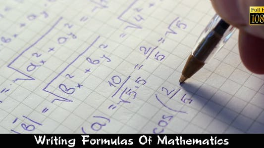 Thumbnail for Writing Formulas Of Mathematics 2
