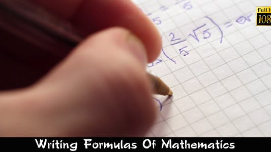 Thumbnail for Writing Formulas Of Mathematics 3