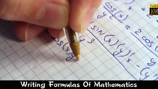 Thumbnail for Writing Formulas Of Mathematics 4