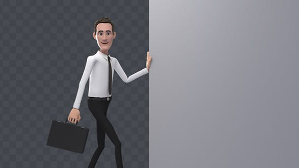 Thumbnail for Businessman Opening Animation