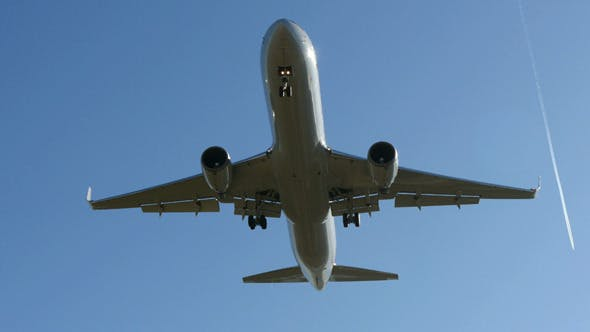 Thumbnail for Commercial Airliner Landing
