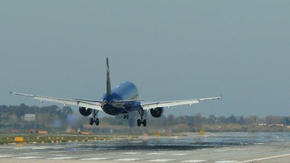 Thumbnail for Passenger Airplane Landing